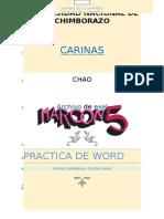 Practica de Word