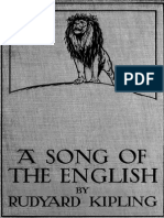 Kipling - Song of English