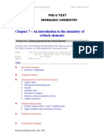 Inorganic Chemistry Chapter 07