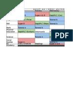 2014-15 power schedule