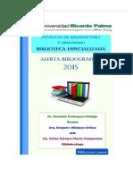 Alerta Bibliografica 2015 - FAU-URP