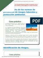 Tema-5 FHW Cumplimiento de Las Normas de Prevención de Riesgos Laborales y Protección Ambiental