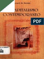 El Capitalismo Contemporaneo - Gerard de Bernis