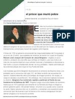 Manuel Belgrano, el prócer que murió pobre - lanacion
