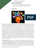 Evolución y Neurociencias_ ¿Existen ideas endógenas_