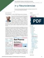 Evolución y Neurociencias_ Psicoterapias_ no sólo la Big Pharma tiene intereses