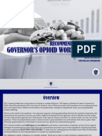Recommendations of the Governor's Opioid Working Group