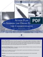 Action Plan to Address the Opioid Epidemic in the Commonwealth