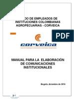 Manual Para La Elaboración de Comunicaciones Corveica Revisado Mlgl