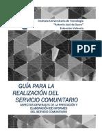 2. Guia Elaboracion de Informes de Servicio Comunitario