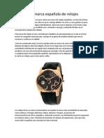 Racer, Una Marca Española de Relojes