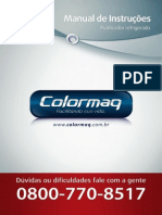Manual Purificador Refrigerado Colormaqq