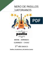 Cancionero de Pasillos Ecuatorianos