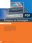 ensayos de hormiagon