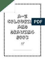 A-z Alphabet Colouring Book