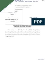 Sprint Communications Company LP v. Vonage Holdings Corp., et al - Document No. 37