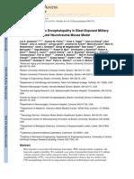 PDF - Chronic Traumatic Encephalopathy in Blast-Exposed Military