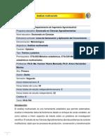 DCA-704 Análisis multivariado