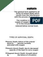 Legal Medicine - Asphyxia(1)