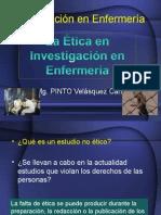 CLASE 13 Etica en Investigacion en Enfermeria 15741