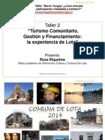 Presentación Lota Rosa Riquelme