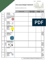 Effective Lesson Design Framework Rev June 2015