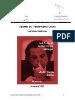 Arico El Marxismo en Dilogo