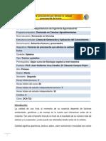 DCA-722 Factores de precosecha que afectan la calidad poscosecha de frutos