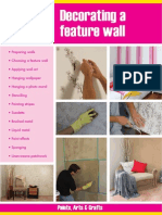 Decorating a Feature Wall