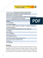 DCA-723 Ingeniería de procesos de manejo poscosecha de frutas y vegetales