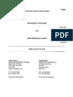 Appellants Factum r vs Salmon