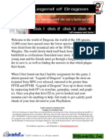 Walkthrough legend pdf dragoon of