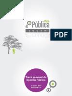 Plaza pública N°75 Cadem