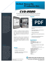 United Security CVD2020 Data Sheet