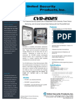 United Security CVD-2025 Data Sheet