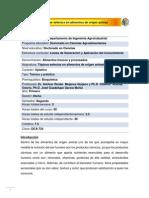 DCA-724 Tópicos selectos en alimentos de origen animal