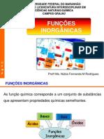 funcoes inorganicas