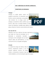 Atractivos Turisticos de Centro America