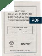 Ilmu Pengetahuan Sosial UASBN 2010