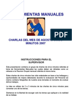 Charlas Agosto 2007 Herramientas-sigral
