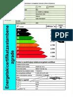 Energetski certifikat - garsonijera Gornji Sroki 125a, Viškovo