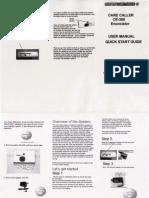 United Security CE-300 User Manual