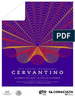 Poster del 43 Festival Internacional Cervantino 2015