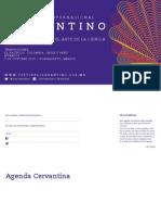 43 Cervantino - Agenda Calendario