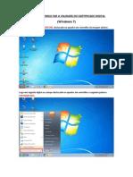 Guia Certificado Digital Windows 7