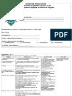 Planejamento Educação Fisica Cbc e Descritores 2015