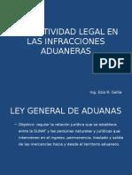 Normatividad Legal en Las Infracciones Aduaneras