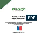 Propuesta Técnica IEnergia LLanquihue Palena