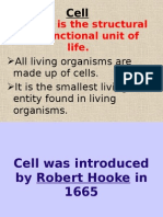 Cell - Fundamental Unit of Life