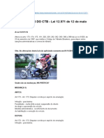 Alterações Do CTB